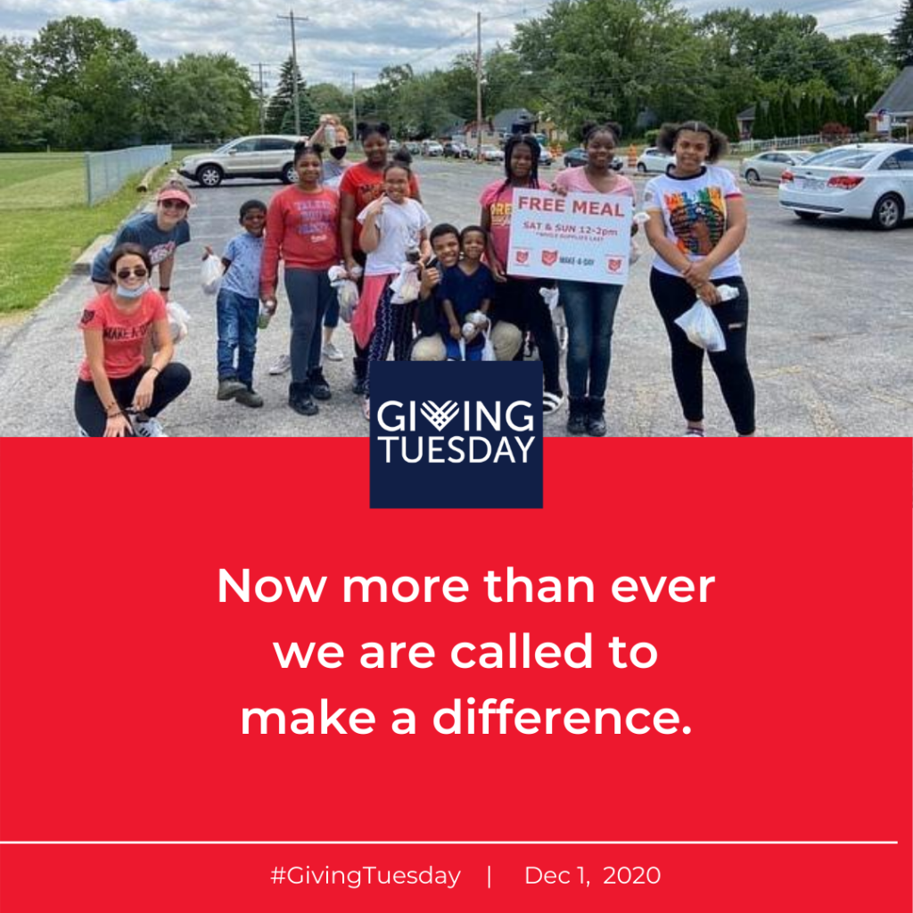 giving tuesday make a difference